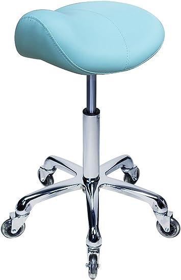 Rolling Up Salon Beauté Spa Massage Tabouret Chaise Pivotante Coiffeur Coiffeur