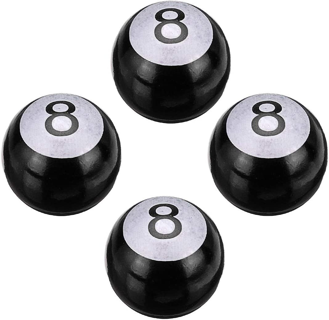 8 Bolas para alberca Desconocido 4 Tapones universales para v/álvulas de neum/áticos de Coche