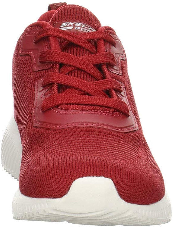 Skechers Bobs Squad - Tough Talk, Baskets Femme Red
