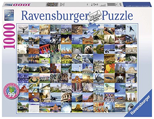 (Ravensburger 99 Beautiful Places USA/Canada Jigsaw Puzzle (1000 Piece))