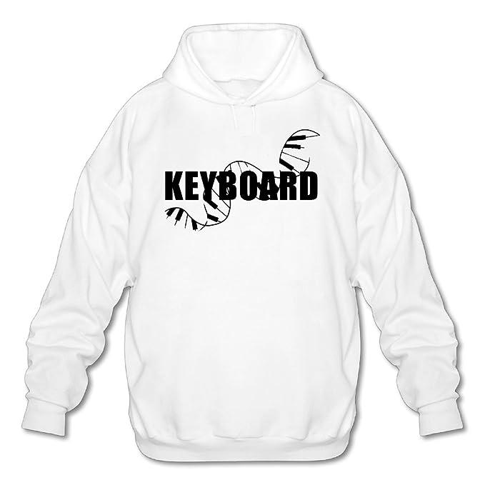 Teclado Piano store321 Hombres 100% algodón camiseta de teclado sudadera con capucha sudadera: Amazon.es: Ropa y accesorios