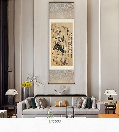 HZARTS Zheng Banqiao studio di pittura soggiorno decorazione ...