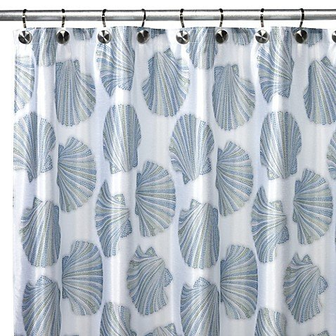 (Croscill Mosaic Shells Shower Curtain)