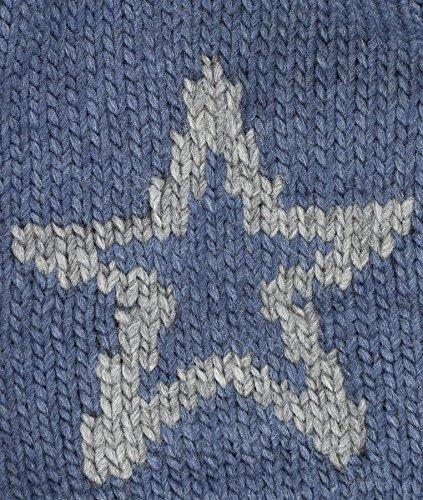 stellar Gorro Punto Bohomütze Unisex de Adulto Strick Blau 3116 Döll U8wqWRPU