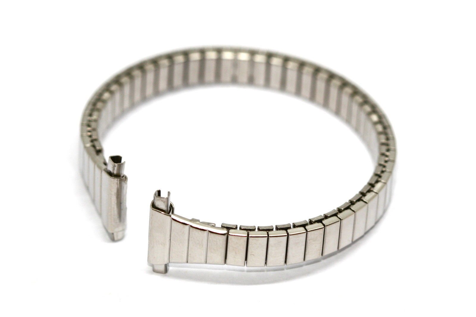 SPEIDEL 11-14MM SHORT SILVER STAINLESS STEEL EXPANSION STRAP WATCH BAND