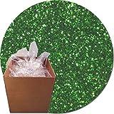 Glitter My World! Craft Glitter: 25lb Box: Kelly Green Dream