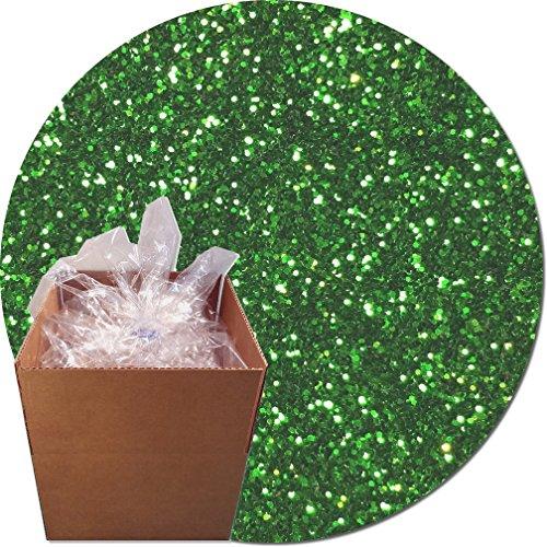 Glitter My World! Craft Glitter: 25lb Box: Kelly Green Dream by Glitter My World!