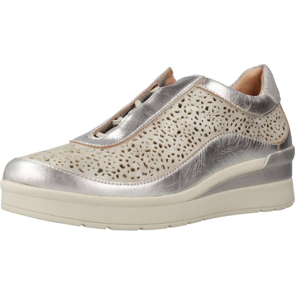 Stonefly Damen Laufschuhe Farbe Silber Marca Modelo Damen Laufschuhe Cream 2 bis Silber