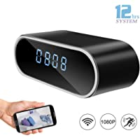 DareTang 1080P Hidden Spy Camera Alarm Clock With Loop Recording
