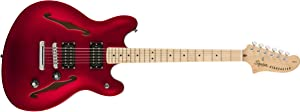 Squier by Fender Squier Affinity Starcaster - Maple - Candy Apple Red