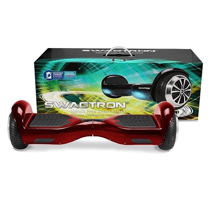 Amazon.com: Swagtron T1 Version 2 Hands Free Smart Board ...