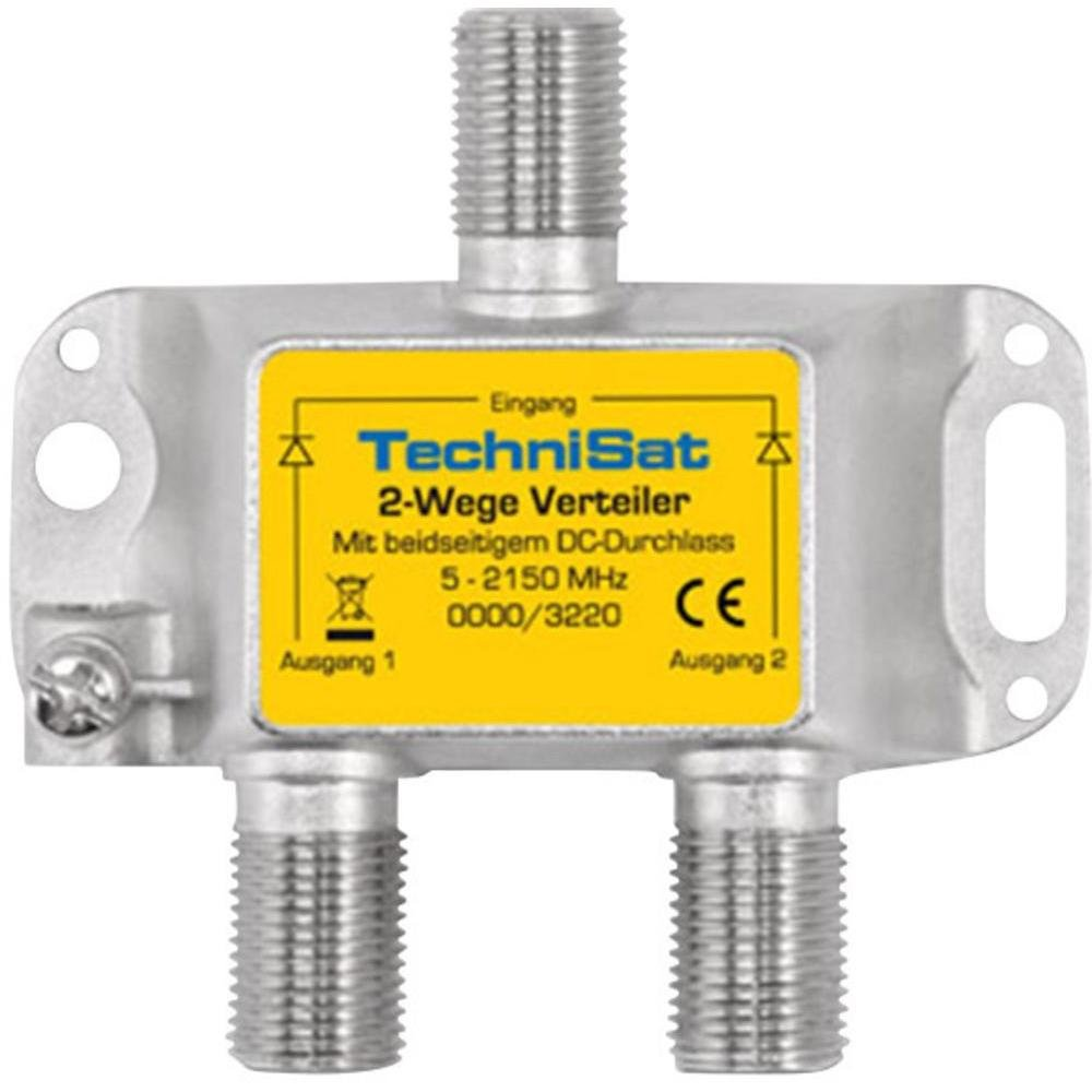 TechniSat 2-Wege Sat-Verteiler: Amazon.de: Elektronik
