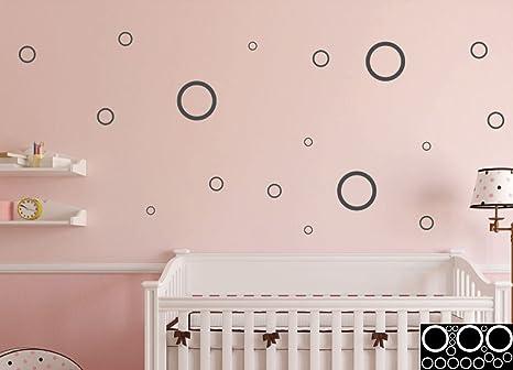 Kleb drauf 18 punti sticker per la decorazione di pareti