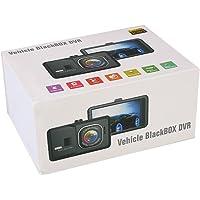 Câmera veicular para carros, G-sensor, ângulo amplo de 120°, LCD, visão noturna, câmera de painel