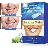 Teeth Whitening Strips,Teeth Whitener Kit,Teeth Bleaching,Teeth Whitening Kit - Whiten Teeth - Enamel Safe,28 Tooth Whitening Strips Per Pack (14 Upper + 14 Lower)