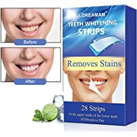 Teeth Whitening Strips,Teeth Whitener Kit,Teeth Bleaching,Teeth Whitening Kit - Whiten Teeth - Enamel Safe,28 Tooth Whitening Strips Per Pack (14 Upper + 14 Lower)