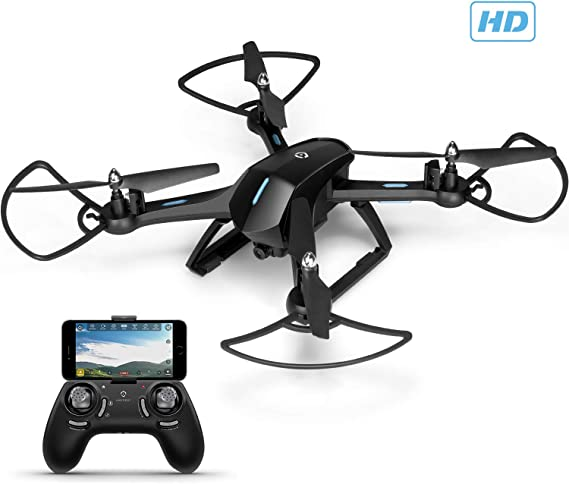 Amcrest A6-B Skyview Pro RC WiFi Drone with Camera HD FPV Quadcopter Video Drone with Camera for Adults