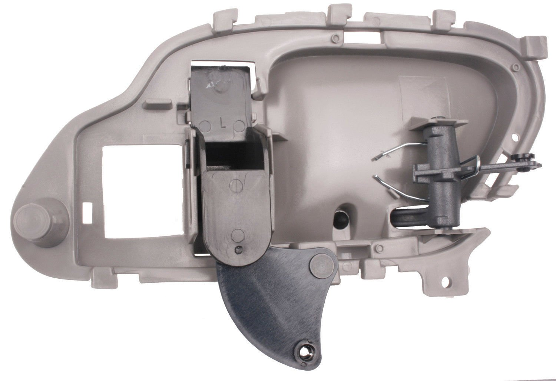 1995 1996 1997 1998 1999 Chevrolet Pickup Gray Lh 99 Gmc Van Wiring Diagram Door Drivers Side Inside Handle For Chevy Left Hand Driver Interior 95 96 97 98