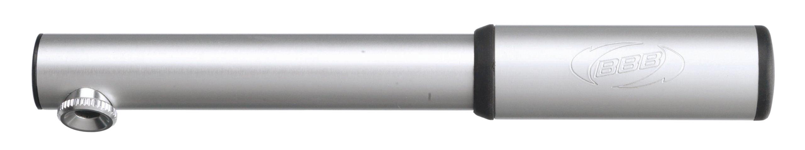 BBB CompactRoad Mini Road Bike Pump BMP-40 Silver
