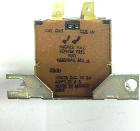Motorhome Ranco 9551N16V Vacuum Switch 12V 24V Automotive RV