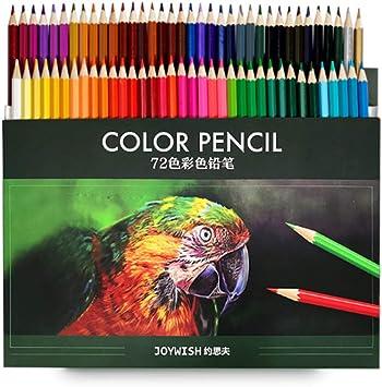 kabinga 8 Estuche de lápices Dibujo Profesional ,72 Colores numerados,Apto para niños y Adultos.,Multicolor, Unisex, 8, L: Amazon.es: Juguetes y juegos