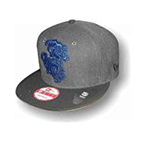 Image Unavailable. Image not available for. Color  New-Era 9Fifty Snapback  Hat Cap Head Wear NFL Denver Broncos Drk Grey Black 4bee3097e