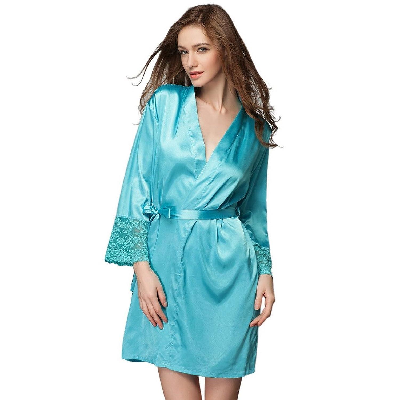 Aivtalk Ensemble 2 Pi¨ce y Robe de Chambre Kimono été Nuisette