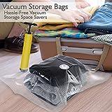 Premium Vacuum Storage Bags Bundle with Hand Vacuum