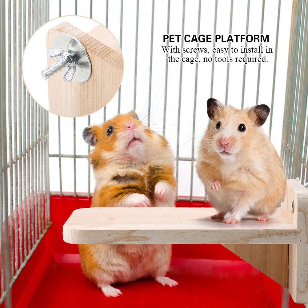 Pssopp Plataforma de Soporte para hámster para Mascotas, Soporte ...