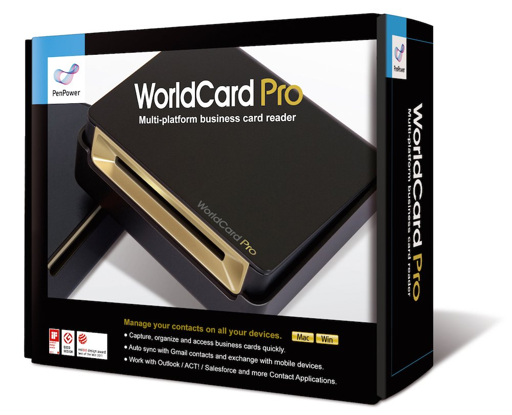 PenPower WorldCard Pro Business Card Scanner (Mac/Win) EU: Amazon ...