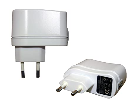 Spartechnik - Cargador USB a enchufe para Kindle (230 V, 100 ...