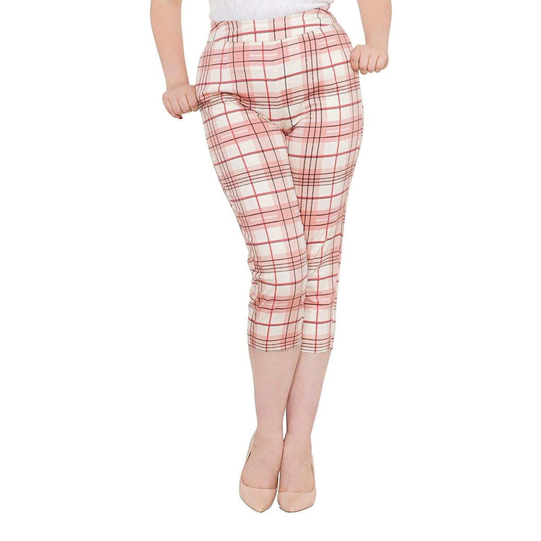 02a631543c6d82 Voodoo Vixen Clothing - Lola Lou Retro Peddle Pushers at Amazon Women's  Clothing store: