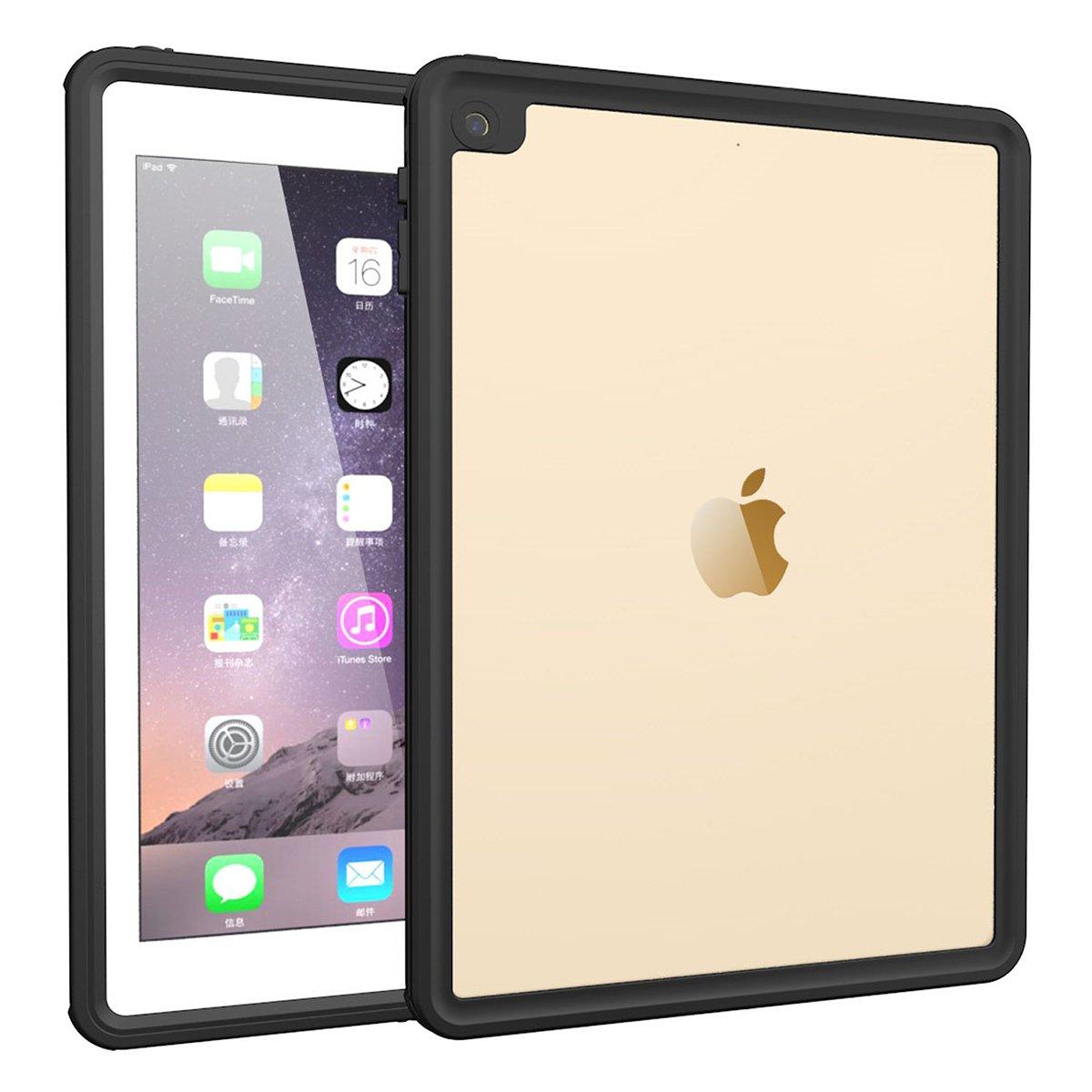 超安い品質 Torubia iPad Pro 9.7 2017 汚れ防止 防水ケース バックシェル Pro 防雪 汚れ防止 2017用 カバーカバー 耐衝撃 防水ケース iPad Pro 9.7 2017用 ブラック B07L8QL1HQ, 武豊町:e285beef --- a0267596.xsph.ru