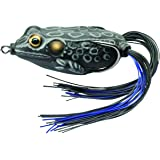 LiveTarget Lure FGH65T519 Hollow Body Frog Popper Bait Emerald//Red Fishing