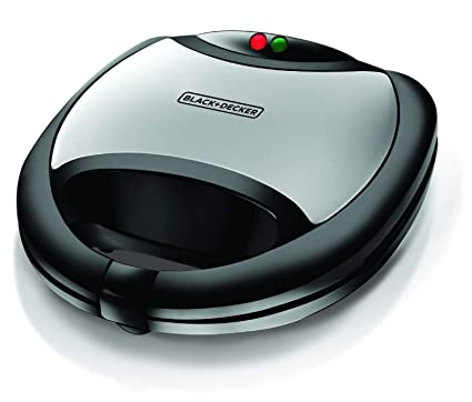 Black & Decker TS2020 750-Watt 2-Slice Grill Sandwich Maker