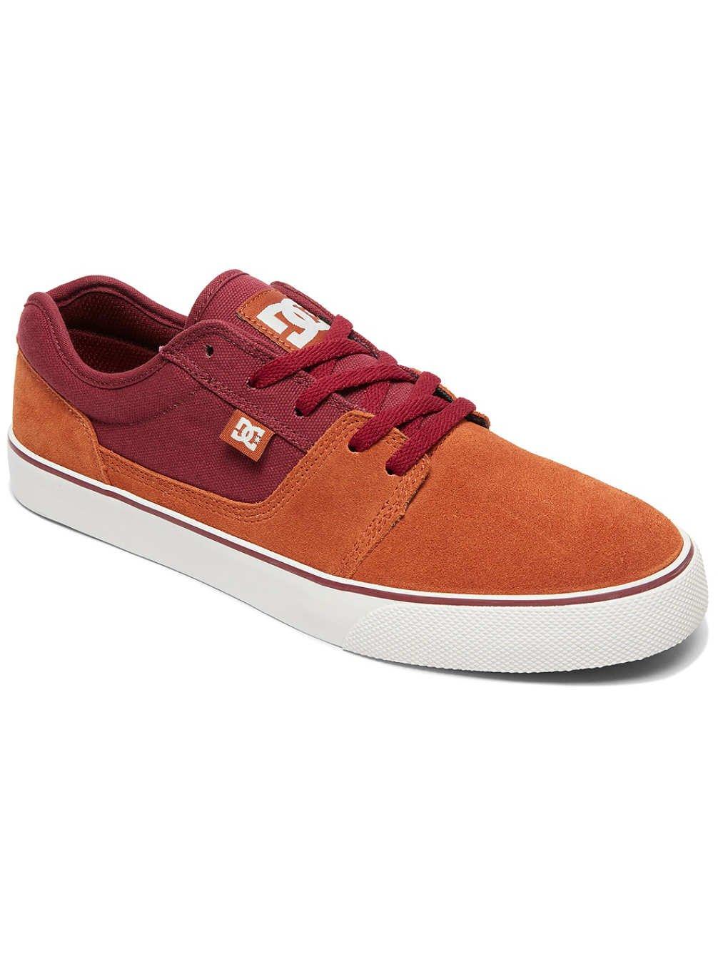 DC Shoes TONIK SHOE D0302905 - Zapatillas de ante para hombre 40.5 EU|Cabernet