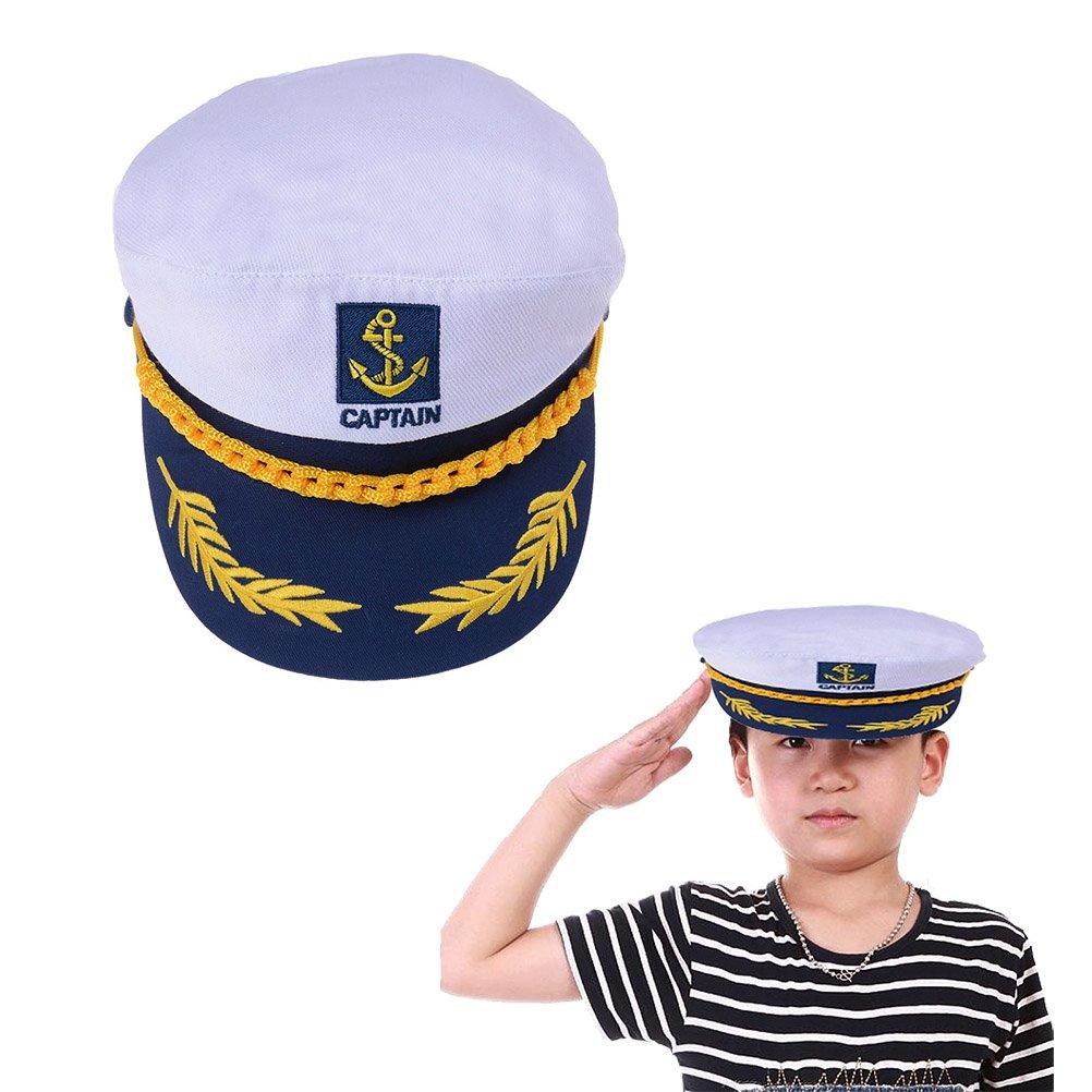 Welecom Sailor Captain Hat Embroidery Boat Ship Sailor Hats