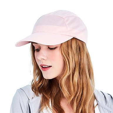 35295e9fc0d Kenmont Ultralight Golf Cap Women Summer UV Protection Visor Sun Hat  Outdoor Sports Cap (Nude Pink)  Amazon.co.uk  Clothing