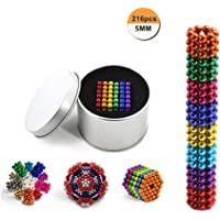 5mm 6 Colors Creative Small Metal Balls Cube Desk Decompression Toy for Leisure Time