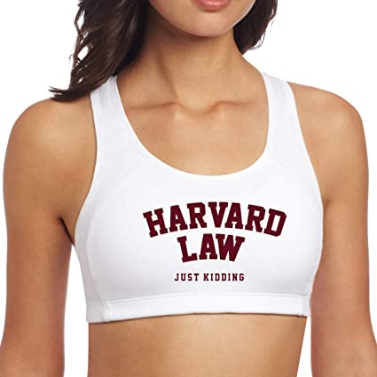 Amazon.com: JJHH SHOP Harvard Law Just Kidding Womens Girls ...