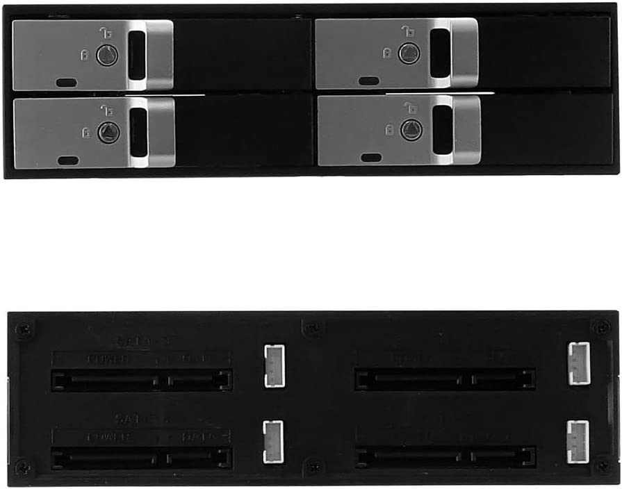 4 bay 2.5 tray-less SEDNA screw-free and tool-less Mobile Rack