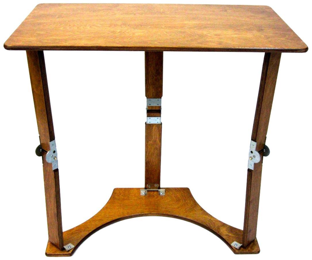 Spiderlegs Folding Laptop Desk Tray Table, 27-Inch, Warm Oak by Spiderlegs