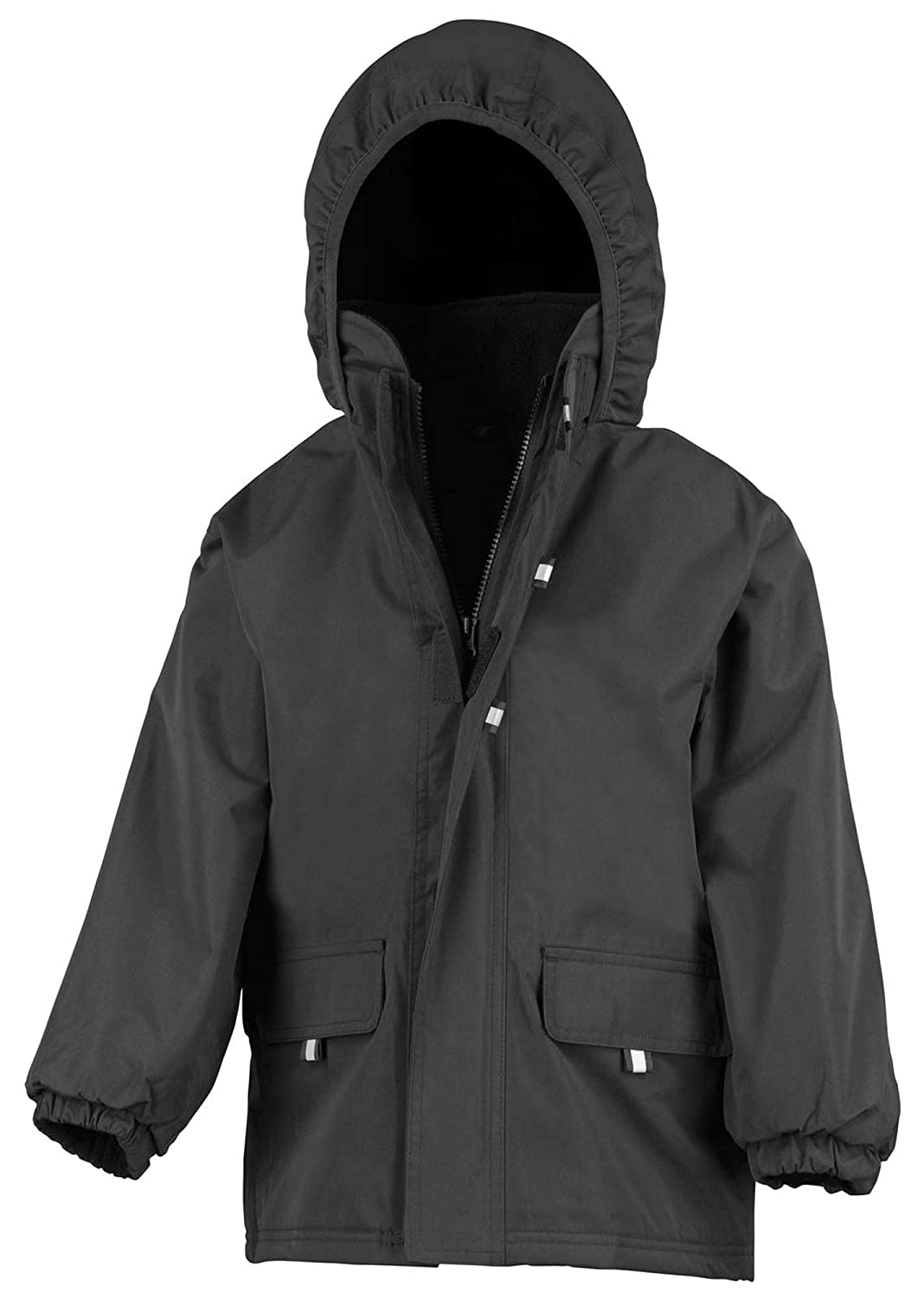 Result R150J Rugged Stuff Junior//Youth Long Coat Blank Plain