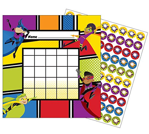 Carson Dellosa Super Power Mini Incentive Charts (148028)