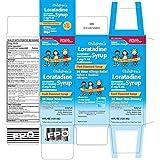 Children's Loratidine Syrup Fruit - 4 oz, Pack of 3