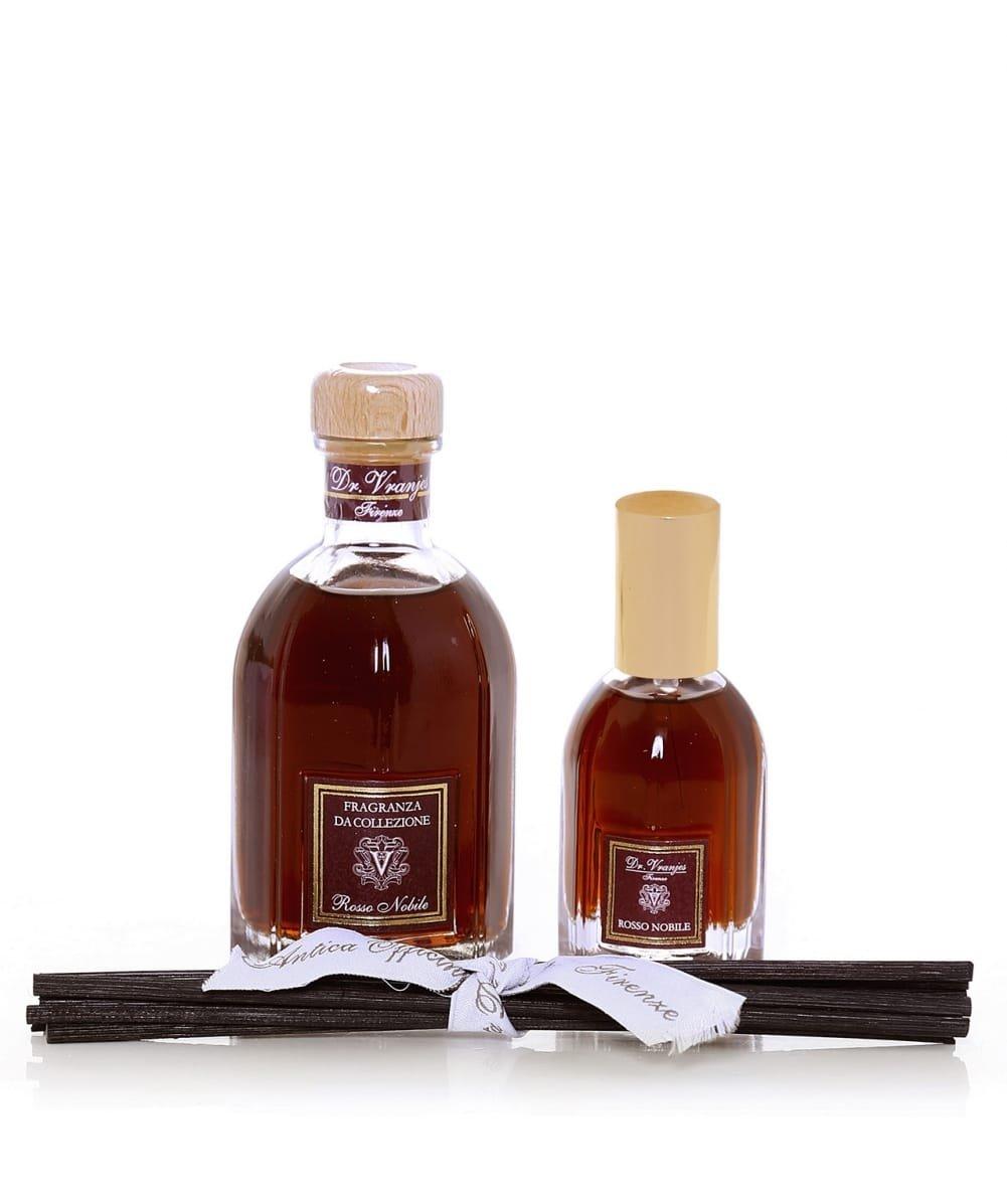 ドットールヴラニエス ロッソノービレ 100ml ボトル & 25ml ルームスプレー ギフトセット Dr Vranjes Rosso Nobile Gift BOX [並行輸入品] B076K8WGNM