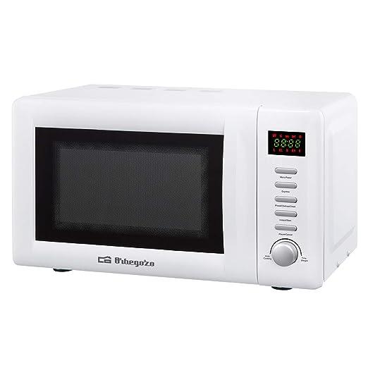 Orbegozo MIG 2036 - Microondas con grill, 20 litros de ...