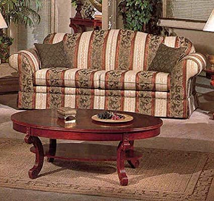 Amazon.com: Classic Victorian Style Pattern Sofa/Couch in ...