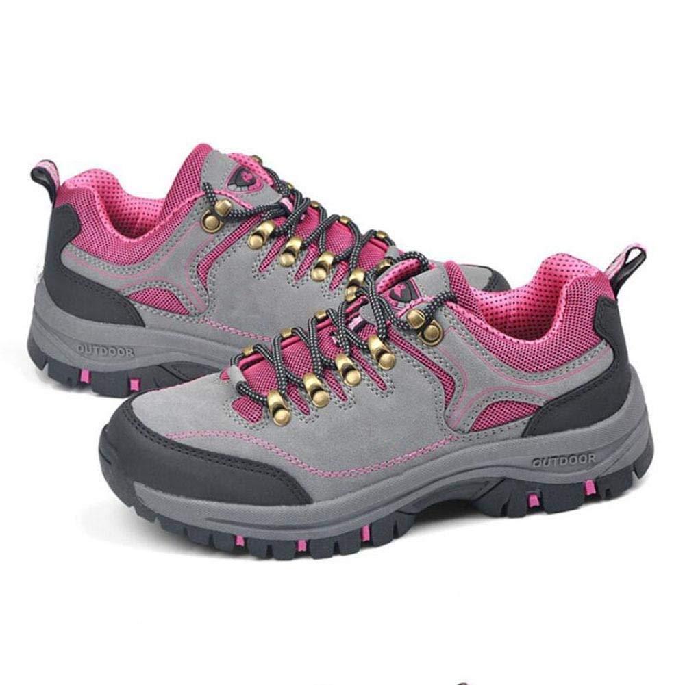 Oudan sportAutdoor scarpe Wear Wear Wear scarpe scarpe scarpe Hiking scarpe Anti - Skid (colore   Grigio, Dimensione   37) fc01d4