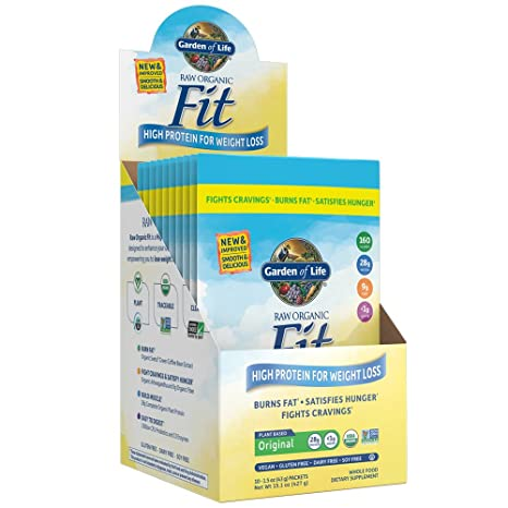 garden of life raw fit protein 10 count tray - Garden Of Life Raw Fit
